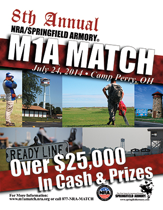 2014 NRA Springfield M1A Match